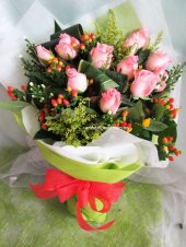 AHB9885 - Pink roses