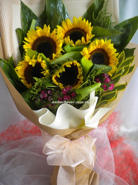 AHG395 (Sunflowers) - Click Image to Close
